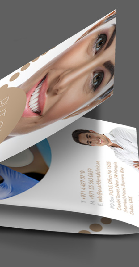 Pearl Dental Clinic – Flyer Design