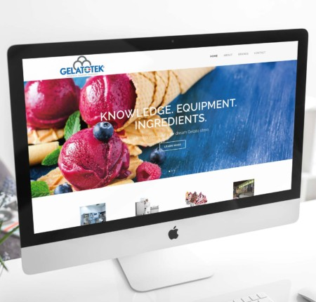 Gelato Company Corporate Website
