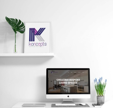 Interior Design Company Website